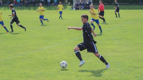 Julian Buchmeier krönte seine starke Leistung gegen Gerzen mit dem wichtigen Treffer zum 3:2