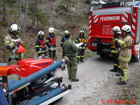 Feuerwehr, Blaulicht, Abschlussübung, FF Bad Ischl, Grundausbildung, Truppführer