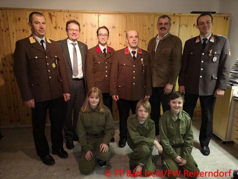Feuerwehr, Blaulicht, Jahresvollversammlung, Reiterndorf, Bad Ischl
