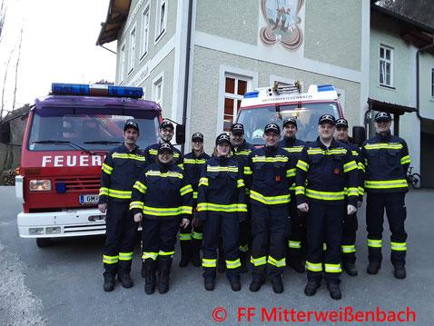 Feuerwehr, Blaulicht, Verkehrsunfall, Poller, Auto, Bad Ischl
