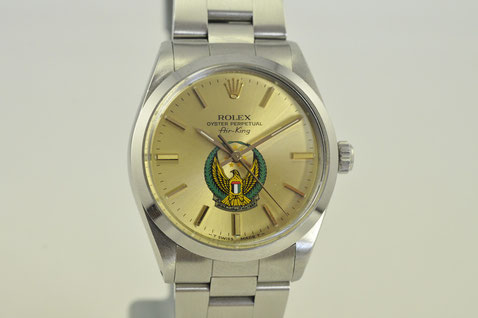rolex oyster air-king ref.5500 UAE dial
