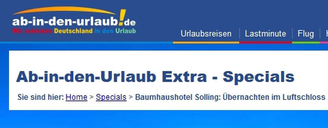 "Screenshot ""Ab-in-den-Urlaub.de"""