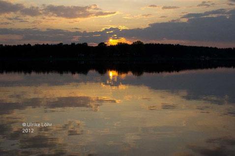Abend über der Havel
