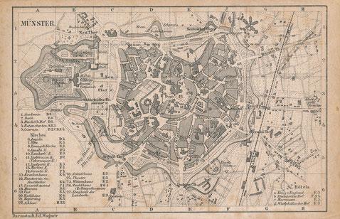 Stadtplan 1880