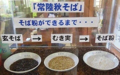 常陸太田の蕎麦工房にて撮影