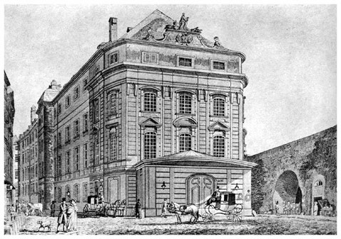 Das Kärntnertortheater in Wien