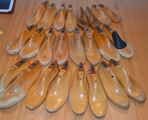 Schuhleisten für Filzschuhe