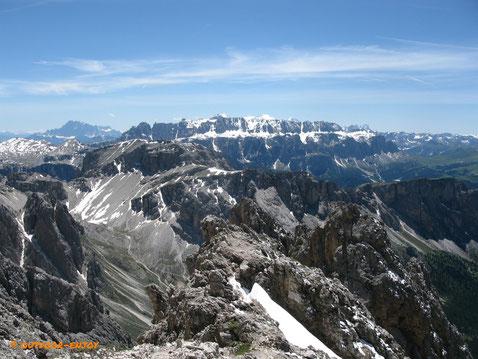 Klettersteig Sass Rigais
