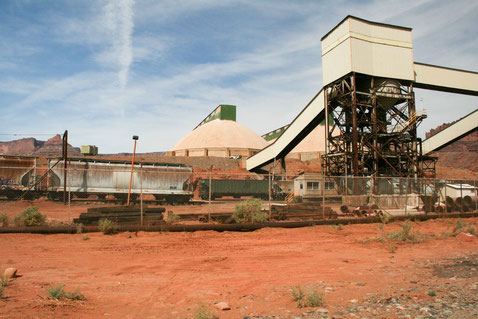 Cane Creek Potash Mine