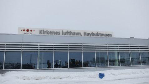 Flughafen in Kirkenes
