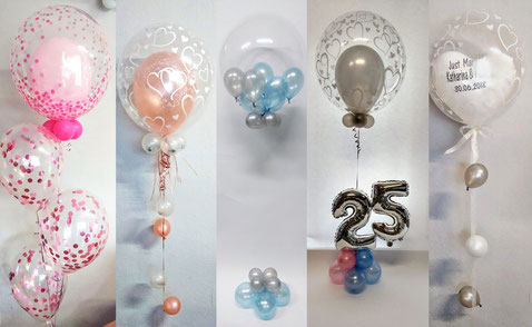 Ballon-Säule-Bubbles