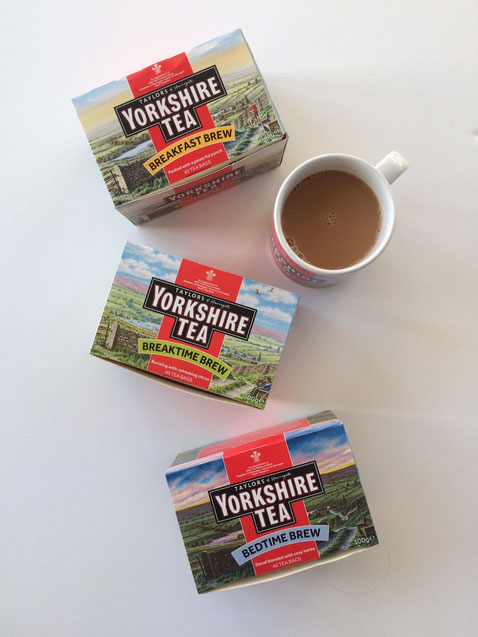 Yorkshire Tea Breakfast Brew Breaktime Brew Bedtime Brew