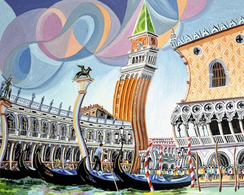 EL DUOMO (VENICE). Oil on canvas. 65 x 81 x 3,5 cm.