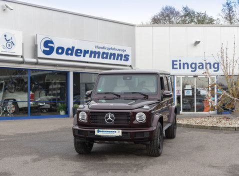 behindertengerechter Mercedes-Benz G 400 D Selbstfahrerumbau, Sodermanns