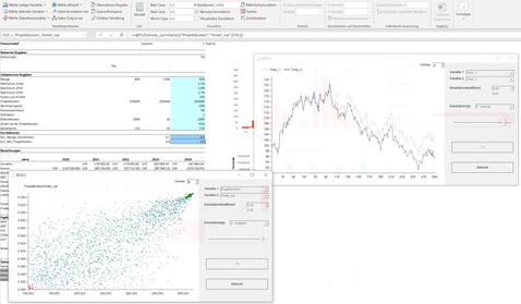 Korrelationen definieren MC FLO Simulation Monte Carlo Excel