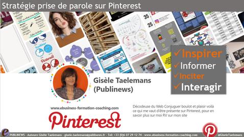 Concevoir sa stratégie et bâtir son plan d'actions sur Pinterest