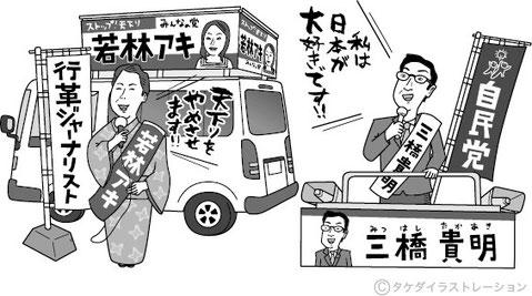選挙の仕組み イラスト
