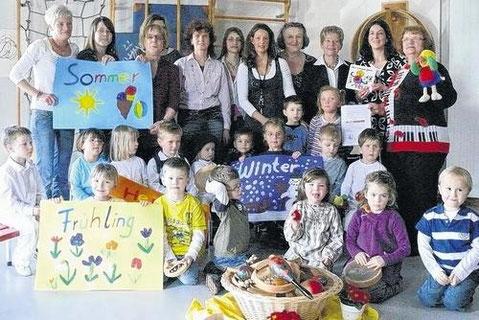 Kindertagesstätte Storchennest Grettstadt - März 2010