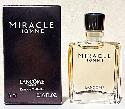 MIRACLE HOMME - EAU DE TOILETTE 5 ML : MINIATURE IDENTIQUE A LA PHOTO PRECEDENTE