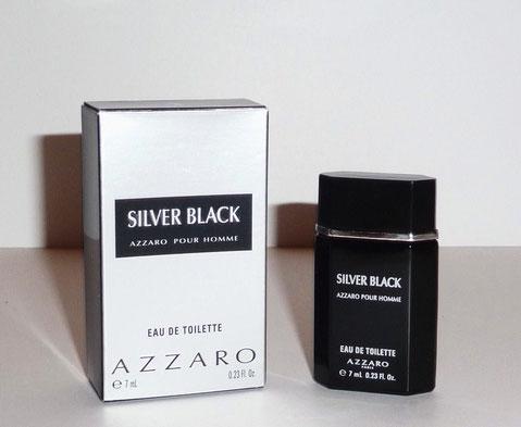 AZZARO SILVER BLACK - EAU DE TOILETTE POUR HOMME 7 ML