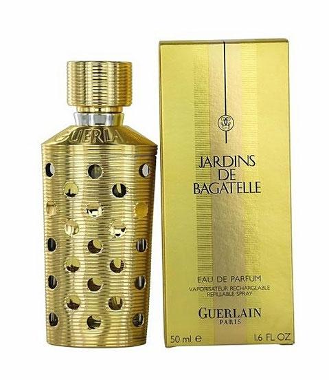 GUERLAIN - JARDINS DE BAGATELLE : VAPORISATEUR DORE RECHARGEABLE, EAU DE PARFUM 50 ML