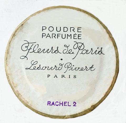 LESOURD-PIVERT : DESSOUS DE LA BOÎTE COLORIS RACHEL 2