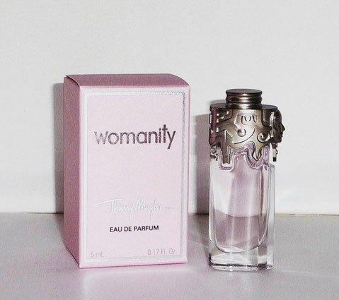 2) WOMANITY - EAU DE PARFUM 5 ML