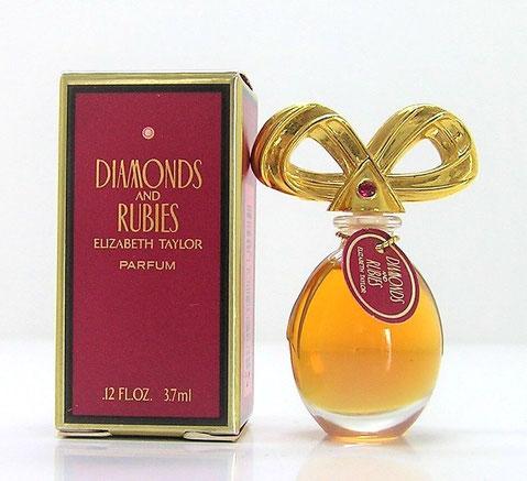 TAYLOR ELIZABETH - DIAMONDS AND RUBIES : PARFUM