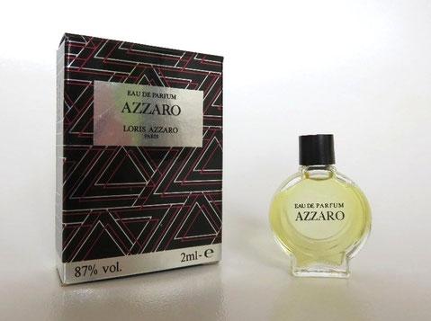 AZZARO - EAU DE PARFUM 87 %, 2 ML - BOÎTE DIFFERENTE DE LA PRECEDENTE