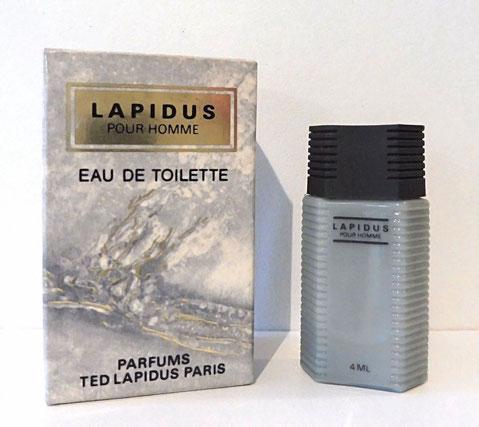 TED LAPIDUS - EAU DE TOILETTE POUR HOMME 4 ML : MINIATURE IDENTIQUE A LA PRECEDENTE