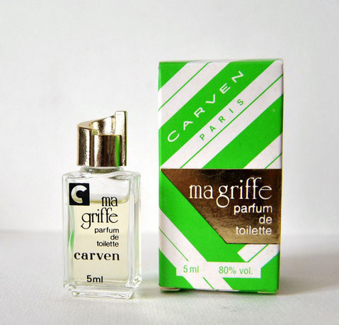 MA GRIFFE - PARFUM DE TOILETTE 5 ML - BOÎTE DIFFERENTE DE LA PRECEDENTE