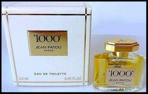 """""""1000"""" - EAU DE TOILETTE 3 ML"""
