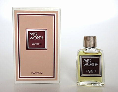 MISS WORTH - PARFUM, MINIATURE IDENTIQUE A LA PHOTO PRECEDENTE