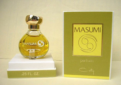 COTY - MASUMI PARFUM 0.25 FL. OZ