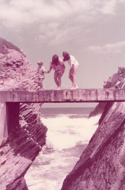 Este puente es ancho, aún sin parecerlo.