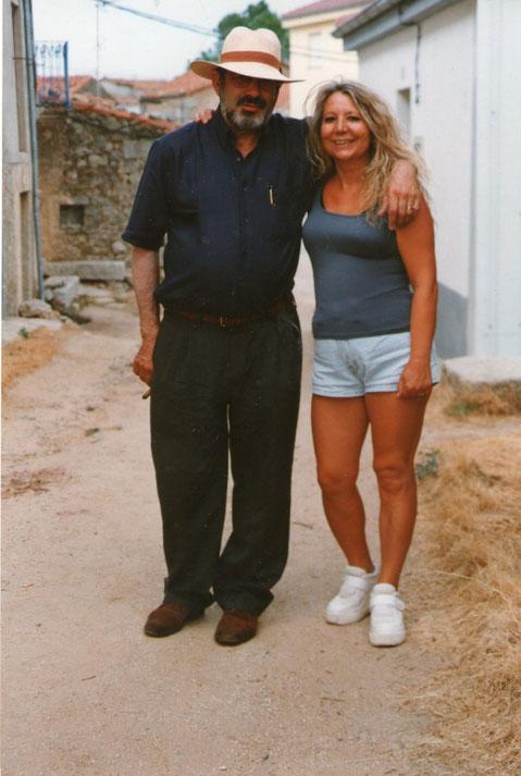 Con Paco, mi cuñado. F. Pedro.
