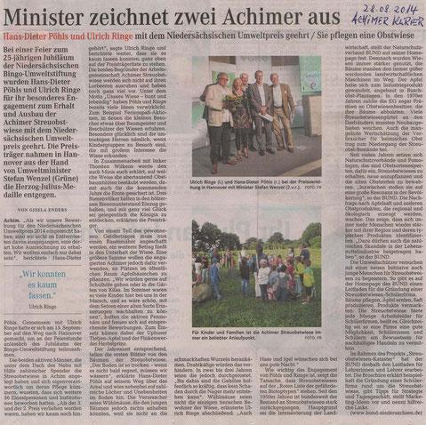 Niedersächsische Umweltpreis