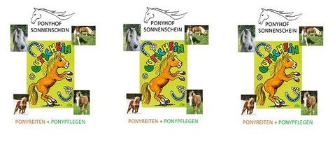 Komm aus Köln zum Ponyreiten - Wünsch Dir einen Gutschein !