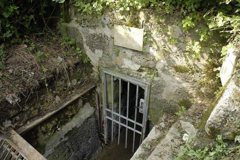 Beim Stolleneingang beim Festungsberg könnte die Wanderung beginnen und nach Süden führen - von der Stadt weg.