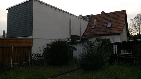 Doppelhaushälfte in Braunschweig, aus der wir ein Dreifamilienhaus bauen