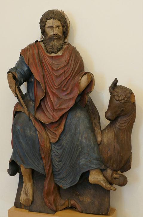 Luc l'évangéliste, bois environ 1730