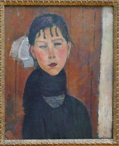Amedeo Modigliani : Marie, fille du peuple, 1918