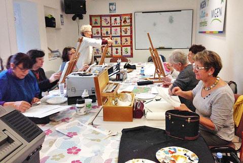 Atelier peinture artistique Club MGEN 17