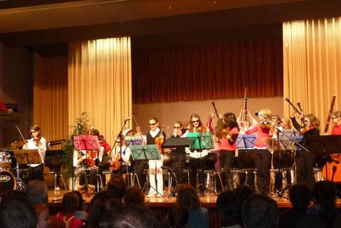 Erster Auftritt: Adventskonzert 2008