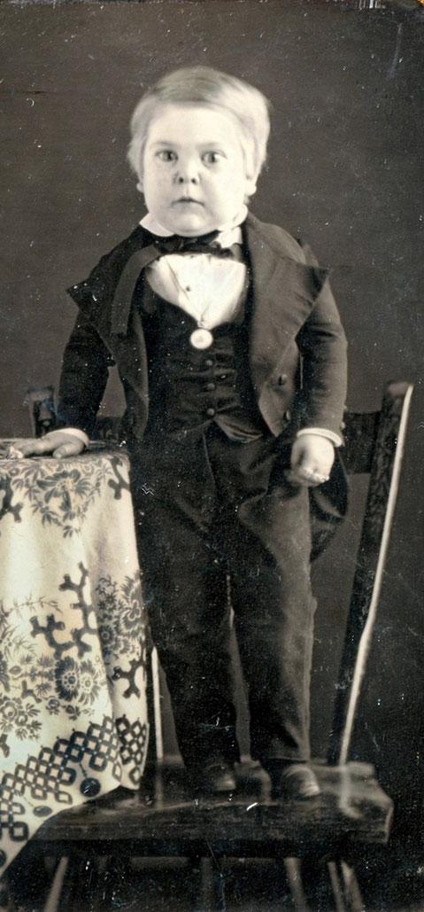 1848年当時10歳のトム・サム