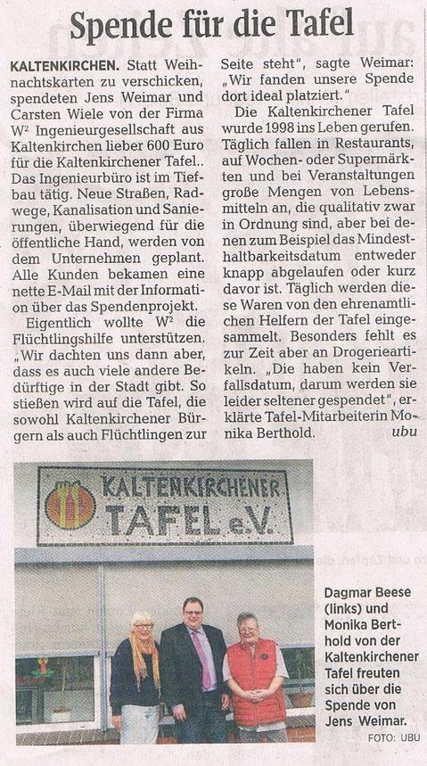 Segeberger Zeitung 21.12.2015
