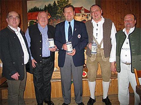 Steiner Martin, Heinik Werner, Drittenpreis Albert, Gerstberger Kurt, Loibl Anton