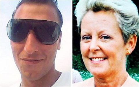 Aus Diario De Avisos (Fran Pallero): Dejan Dejanov und Jennifer Mills Westley
