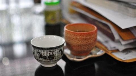 Bild: Teeschalen, moderne