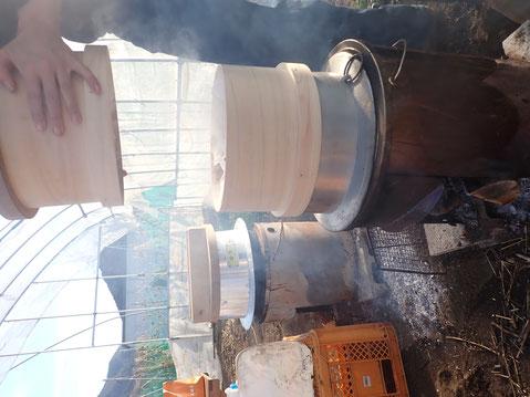 かまど焚きご飯の出来る農業体験@さとやま農学校